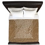 Celtic Letter Z King Duvet Cover