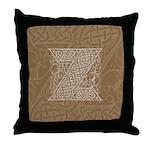 Celtic Letter Z Throw Pillow
