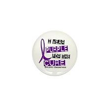 I Wear Purple 37 Epilepsy Mini Button (10 pack)