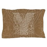 Celtic Letter Y Pillow Case