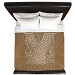 Celtic Letter Y King Duvet Cover