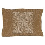 Celtic Letter X Pillow Case
