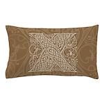 Celtic Letter X Pillow Case