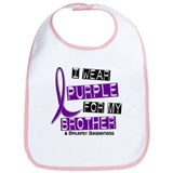 I Wear Purple 37 Epilepsy Bib