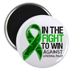 "In The Fight Cerebral Palsy 2.25"" Magnet (10 pack)"