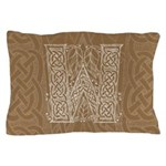 Celtic Letter W Pillow Case