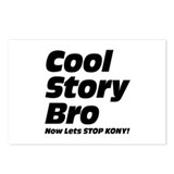 Cool Story Bro: Now Lets Stop Kony Postcards (Pack
