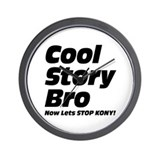 Cool Story Bro: Now Lets Stop Kony Wall Clock