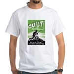 Quilt For Victory! White T-Shirt
