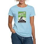 Quilt For Victory! Women's Light T-Shirt