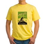 Quilt For Victory! Yellow T-Shirt