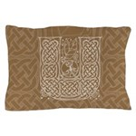 Celtic Letter U Pillow Case
