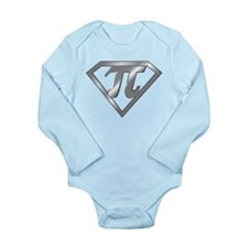 SUPER PI Long Sleeve Infant Bodysuit