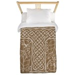 Celtic Letter T Twin Duvet Cover