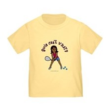 Racquetball Girl (Dark) T