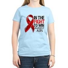 In The Fight To Win AIDS T-Shirt