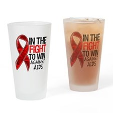 In The Fight To Win AIDS Drinking Glass