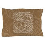 Celtic Letter S Pillow Case