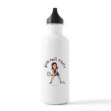 Racquetball Girl (Light) Water Bottle