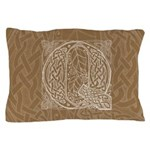 Celtic Letter Q Pillow Case