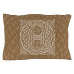Celtic Letter O Pillow Case
