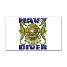 NAVY MASTER DIVER Car Magnet 20 x 12
