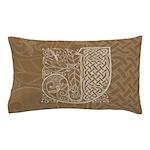 Celtic Letter J Pillow Case