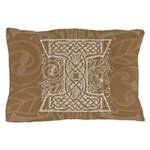 Celtic Letter I Pillow Case