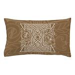 Celtic Letter I Pillow Case