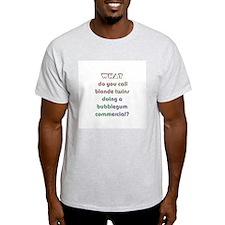 Double Dumb! Ash Grey T-Shirt