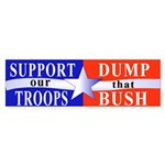 Support our Troops ... Bumper Sticker
