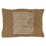 Celtic Letter E Pillow Case