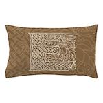 Celtic Letter E Pillow Case