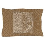 Celtic Letter D Pillow Case