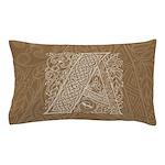 Celtic Letter A Pillow Case