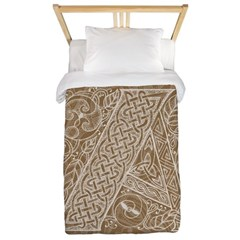 Celtic Letter A Twin Duvet Cover