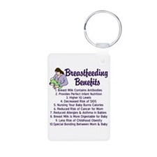 Breastfeeding Benefits Keychains