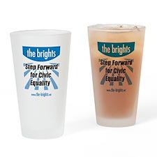 Step Forward Drinking Glass