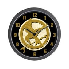 Hunger Games Logo Wall Clock