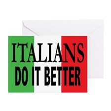 Italians Do It... Greeting Cards (Pk/10)