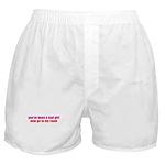 Bad Girl Boxer Shorts