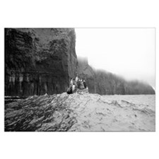 Tourists on a boat, Cliffs Of Moher, The Burren, C