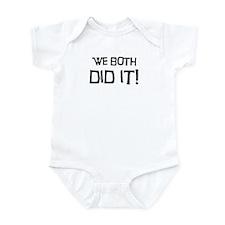 """We Both Did It"" Onezie"