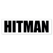 Unique Hitman Car Sticker