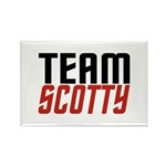 Team Scotty Rectangle Magnet (100 pack)