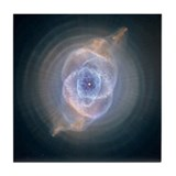 Cat's Eye Nebula Tile Coaster
