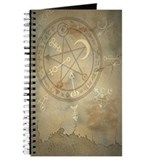Spell Symbols Book of Shadows Journal ~ Marble