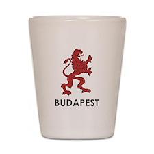 Budapest Lion Shot Glass