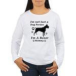 Boxer Mommy Women's Long Sleeve T-Shirt