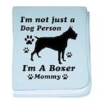 Boxer Mommy baby blanket
